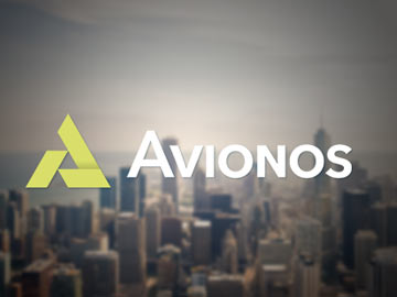 One-page website voor Avionos